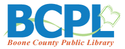 Boone County Public Library Youth Services Logo